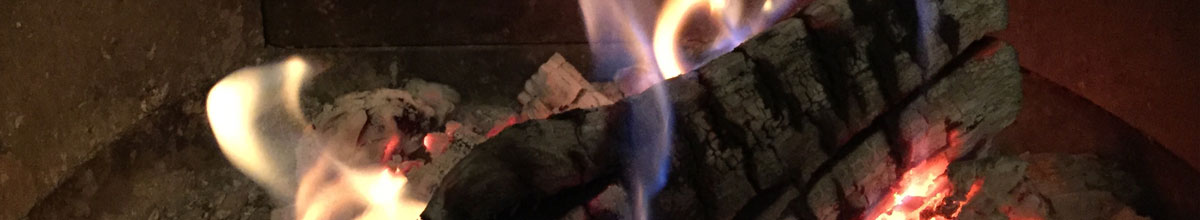 Keeping a fire or woodburner efficient